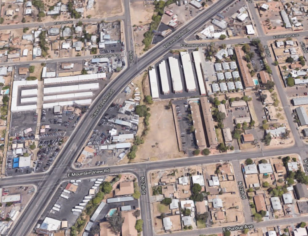 Cave Creek Storage Expansion